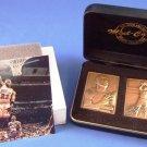 1995-96 - The Highland Mint - Michael Jordan - Chicago Bulls - Bronze - Mini Mint Card - Set