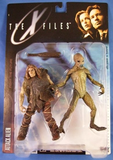 1998 - McFarlane Toys - The X Files - Attack Alien - Ultra Action Figures