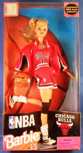 1998 - Mattel - Barbie Doll - NBA - Chicago Bulls - Collector's Edition - Doll