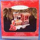 1973-1998 - Hallmark - Keepsake Ornament - 25th Anniversary Edition - Tin Locomotive - Ornament
