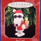 1998 - Hallmark - Keepsake Ornament - Peanuts - Spotlight On Snoopy - Joe Cool