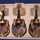 2002 - The Bradford Exchange - Elvis Presley - Entertainer of the Century - Ornament Collection