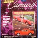 2000 - Johnny Lightning - Camaro Collection - 1969 Red COPO Camaro 427 - Die-cast Metal Cars