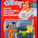 1989 - Mattel - Disney - Pluto Collectible - Die-Cast Plutomobile