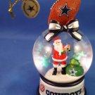 2010 - The Danbury Mint - Dallas Cowboys - Snow Globe Ornament Collection