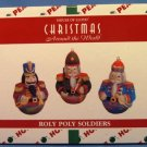 House Of Lloyd - Christmas Around The World - Roly Poly Soldiers
