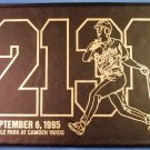 Cal Ripken Jr. - Autographed - 23K Gold Stamp - Limited Edition -  2131 - The Streak - Wallet