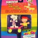 Snoopy - Free Wheeling Action - Skateboard
