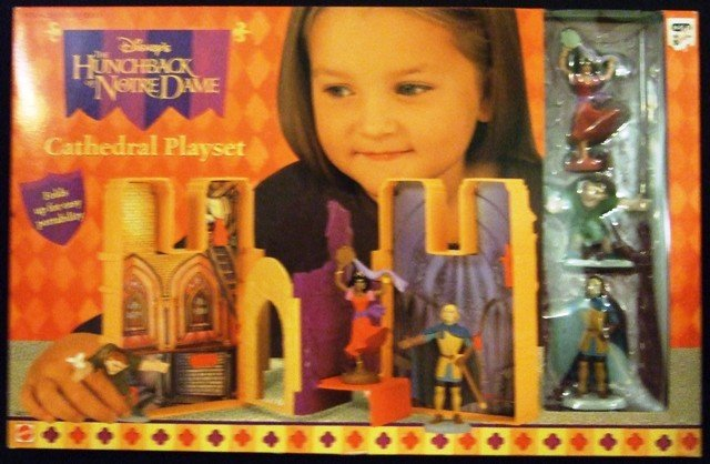 How To Figure Car Payment >> Mattel - Disney's - The Hunchback of Notre Dame - Cathedral Playset - Toy Action Figures