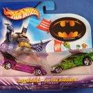 2003 - Mattel - Hot Wheels - DC Comics - Batman vs. The Riddler - Diecast 2 Car Set