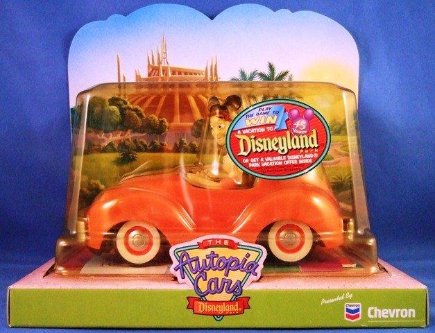 2000 - The Chevron Cars - Disneyland - Autopia Cars - Plastic Motor Vehicles