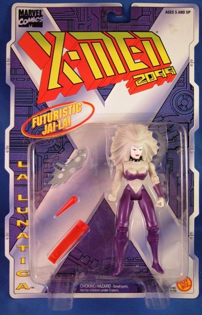 1996 - Toy Biz - Marvel Comics - X-Men  - 2099 - La Lunatica - Futuristic Jai-Lai