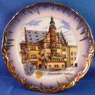 Mnterteich Bavaria Schweinfurt Rathaus 6 inch Collectors Plate