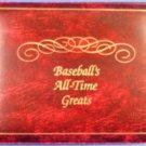 1989 - Nolan Ryan - Baseball's All-Time Greats - Hand Signed - 23 Karat - Gold Stamp