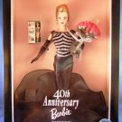 1999 - Mattel - Barbie Doll - 40th Anniversary - Official 1st Shipment - Collector's Edition - Doll