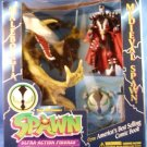 1995 - McFarlane - Spawn - Malebolgia vs. Medieval Spawn - Limited Edition - Collector's Gift Set