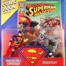 1995 Superman Man of Steel Kenner DC Comics Hunter-Prey Superman vs. Doomsday