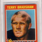 1971 Topps Terry Bradshaw Rookie Card 156 BVG 7.5 NM+