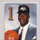 1992 SHAQUILLE O'NEAL Hoops Draft Redemption Rookie #A PSA Gem Mint 10