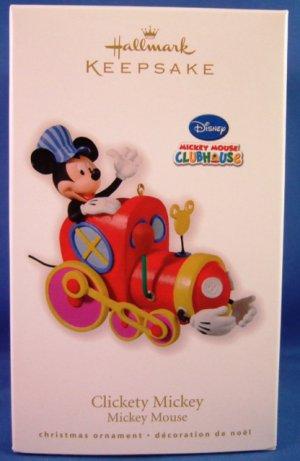 2010 - Hallmark - Keepsake Ornament - Clickety Mickey - Mickey Mouse - Ornament