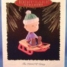 1995 - Hallmark - Keepsake Ornament - Peanuts - Linus - The Peanuts Gang