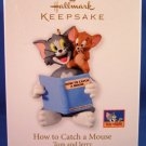 2010 - Hallmark - Keepsake Ornament - Tom And Jerry - How To Catch A Mouse - Christmas Ornament