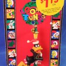 1997 - Looney Tunes - Daffy Duck - Miniature Christmas Ornament