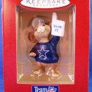 1996 - Hallmark - Keepsake Ornament - NFL Collection - Dallas Cowboys - Football Ornament