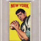 1965 - Topps - Joe Namath - Card #122 - BVG 6 - EX-MT - Butterfly Variation