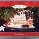 1997 - Hallmark - Keepsake Ornament - Santa's Showboat - Christmas Ornament