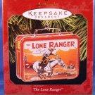 1997 - Hallmark - Keepsake Ornament - The Lone Ranger - Lunch Box - Christmas Ornament