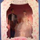 1997 - Hallmark - Keepsake Ornament - Barbie and Ken Holiday - Wedding Day - Christmas Ornament