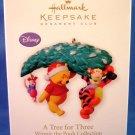 2010 - Hallmark - Keepsake - A Tree For Three - Winnie The Pooh Collection - Christmas Ornament