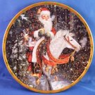1994 - Lenox - The Magic of Christmas Plate Collection - Santa Of The Northern Forest