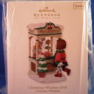 2010 - Hallmark Keepsake - Christmas Windows - Club Exclusive - Ornament