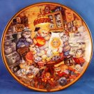 1995 - The Franklin Mint - The Official Gold Medal Flour 115th Anniversary - Collector Cat Plate