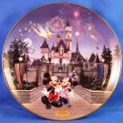 1995 - Bradford Exchange - Sleeping Beauty's Castle - Collector's Plate