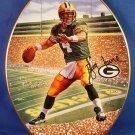 1997 - The Bradford Exchange - Brett Favre - Leader Of The Pack - Collector's Plate
