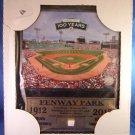 "1912-2012 - Fenway Park - 100th Anniversary - 16"" X 13"" - Memorabilia Wooden Plaque"