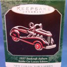1998 - Hallmark - Keepsake - 1937 Steelcraft Auburn - Kiddie Car Luxury Edition