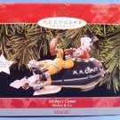 1998 - Hallmark - Disney - Keepsake Ornament - Mickey's Comet - Mickey & Co.