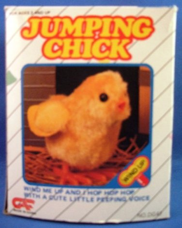 GAP - Jumping Chick - Mechanical - Windup Toy