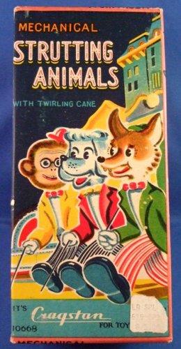 Cragston - Strutting Animals - Mechanical - Chimp - Windup Toy
