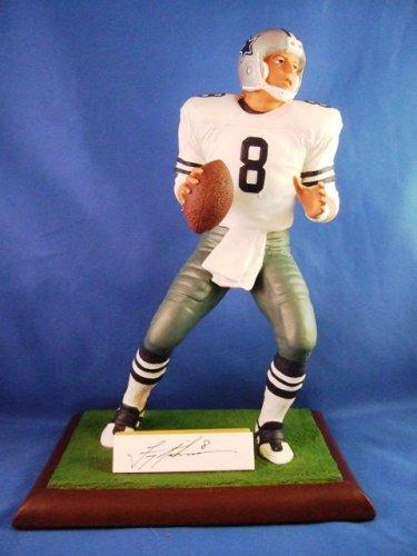 """1994 - Gartlan USA - Troy Aikman - Autographed - Bonded Porcelain - 12"""" Figurine"""