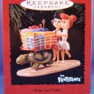 1995 - Hallmark - Keepsake Ornament - The Flintstones - Betty and Wilma - Christmas Ornament
