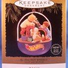 1995 - Hallmark - Keepsake Ornament - Hot Wheels - My First Hot Wheels - Christmas Ornament