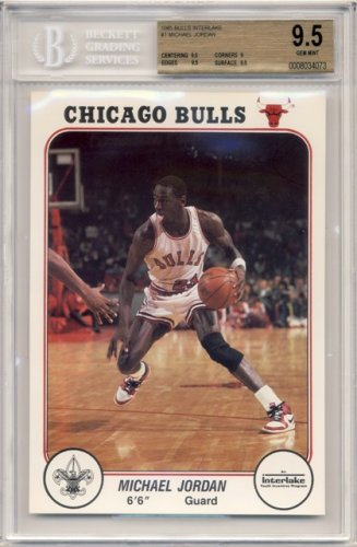 1985 Bulls Interlake Set Michael Jordan Nba