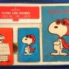 1968 - Peanuts - Hallmark - Playing Card Ensemble - Game Set