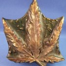 1970's - Capt. Hawks - Sky Patrol And Novelty Co. - Marijuana Leaf - Belt Buckle