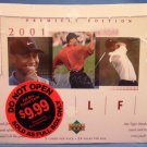 2001 - Upper Deck - Golf - Premiere Edition - Sealed Hobby Box